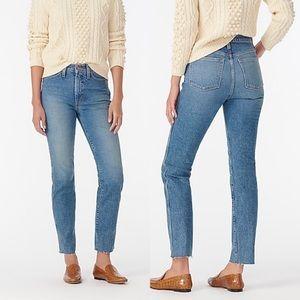 J. Crew Vintage Straight High Rise Jeans